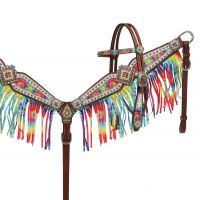 Fringe Headstall and Breastcollar Sets